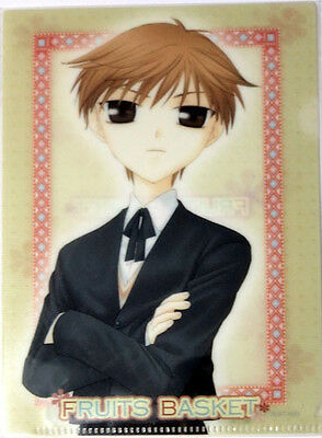 Fruits Basket Hiro Mini Clear File Folder Plastic Anime NEW