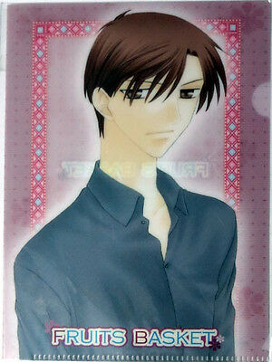 Fruits Basket Kureno Mini Clear File Folder Plastic Anime NEW