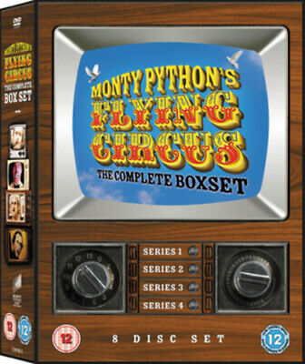 Monty Python's Flying Circus: The Complete Series 1-4 DVD (2008) John Cleese