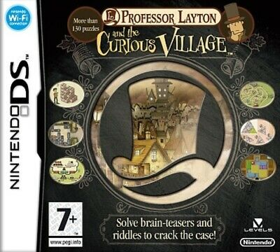 Professor Layton and the Curious Village (DS) VideoGames