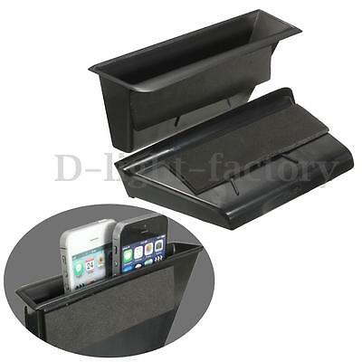 2 x Front Door Armrest Storage Box Container For Benz C-Class W204 2008-2013
