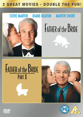 Father of the Bride/Father of the Bride: Part 2 DVD (2008) Steve Martin