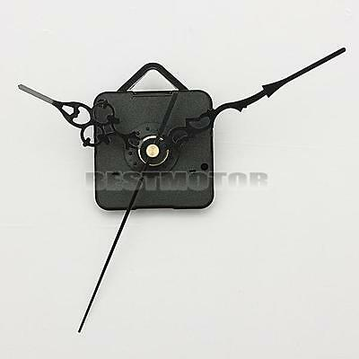 DIY Black Hands Quartz Wall Clock Spindle Movement Mechanism Repair Parts Silent