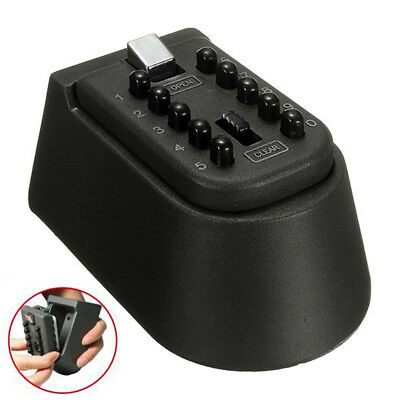 Outdoor Combination Key Lock Safe Wall Mounted High Security Weather Resistant