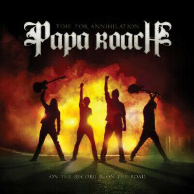 Papa Roach : Time for Annihilation... On the Record and On the Road CD (2010)
