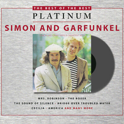Simon & Garfunkel : The Best of the Best: Platinum CD (2011) Fast and FREE P & P