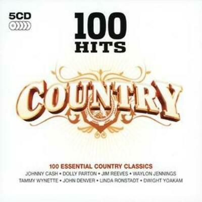 Various Artists : 100 Hits - Country CD 5 discs (2007) FREE Shipping, Save £s