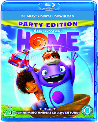 Home Blu-Ray (2015) Tim Johnson cert U Highly Rated eBay Seller Great Prices