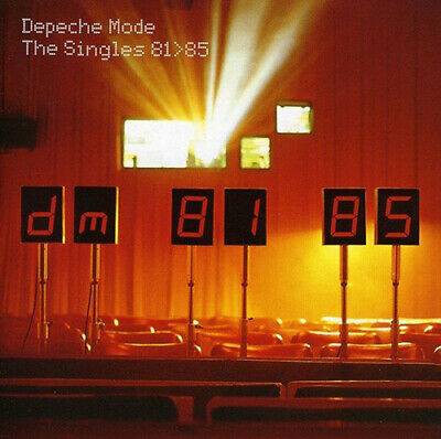 Depeche Mode : The Singles 81>85 CD (1998) Incredible Value and Free Shipping!