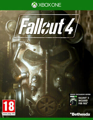 Fallout 4 (Xbox One) PEGI 18+ Adventure: Role Playing FREE Shipping, Save £s