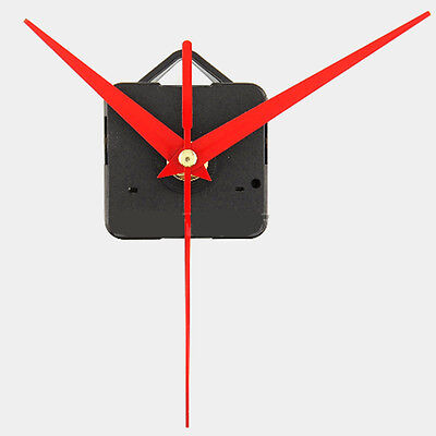 Red Hands DIY Quartz Wall Clock Movement Mechanism Repair Replacement Silent