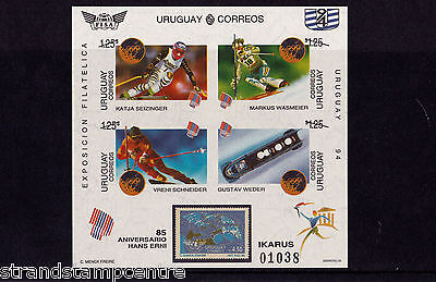 Uruguay - 1994 Winter Olympics - U/M - SG MS2152 IMPERF