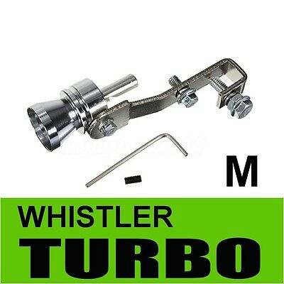 M Turbo Sound Whistle Muffler Exhaust Pipe Blow off Vale BOV Simulator Whistler