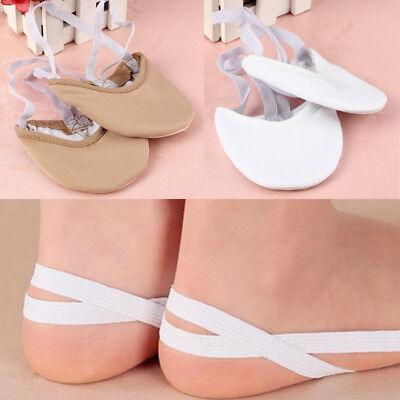 Half Leather Sole ballet pointe Dance Shoes Rhythmic Gymnastics Slippers