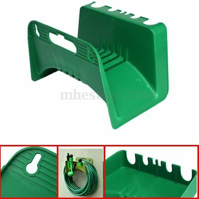 Home Garden Fence Watering Irrigation Hose Pipe Hanger Reel Holder Wall Mounted