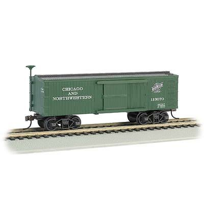 NEW Bachmann Old-Time Box Car C&NW HO 72306