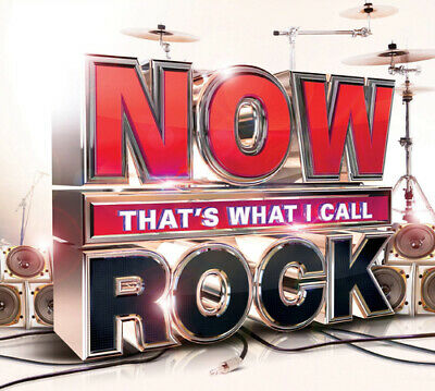 Various Artists : Now That's What I Call Rock CD 3 discs (2014) Amazing Value