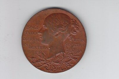 1897 Bronze 60 years of Queen Victoria Medal