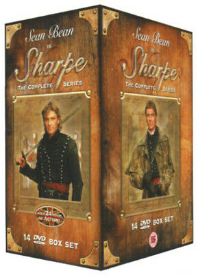 Sharpe: The Complete Series DVD (2002) Sean Bean, Clegg (DIR) cert 15 14 discs