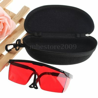 Protection Goggles Laser UV Light Safety Glasses Eye Spectacles Hard Protect Box
