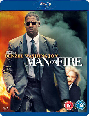 Man On Fire Blu-ray (2009) Denzel Washington