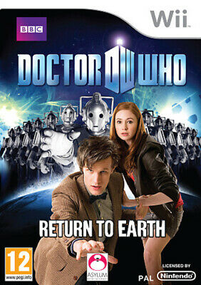 Doctor Who: Return to Earth (Wii) VideoGames