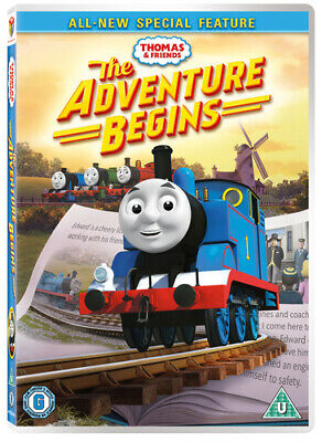 Thomas & Friends: The Adventure Begins DVD (2016) Don Spencer cert U Great Value