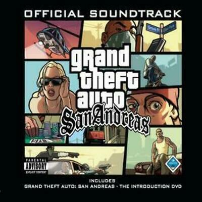 Various Artists : Grand Theft Auto - San Andreas: Official Movie Soundtrack CD