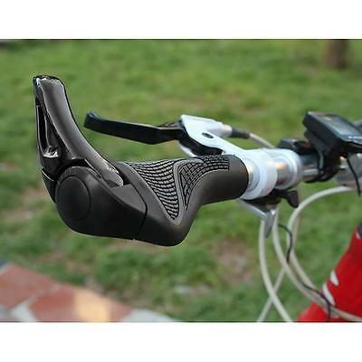 2016 Black Cycling MTB Mountain Bike Bicycle Lock-on Handlebar Grips Handle Bar