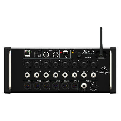Behringer XR16 X Air Digital Mixer for iOS and Android Tablets