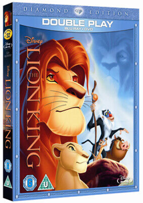 The Lion King Blu-Ray (2011) Roger Allers cert U 2 discs FREE Shipping, Save £s