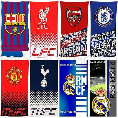 Football Team Fc Towels - Arsenal, Chelsea, Barcelona, Real Madrid + More