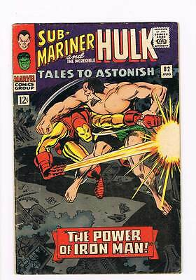 Tales to Astonish # 82  The Power of Iron Man !  grade 4.5  hot book !!