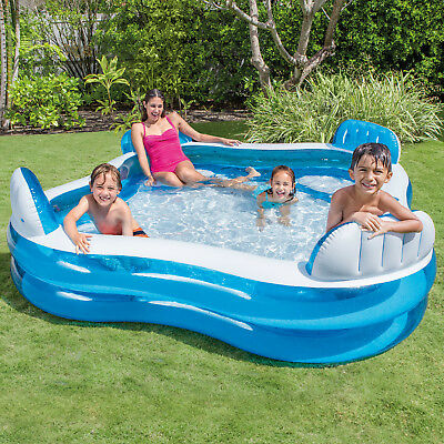 Intex Planschbecken Pool Kinderpool Schwimmbad Swimmingpool Familienpool Family