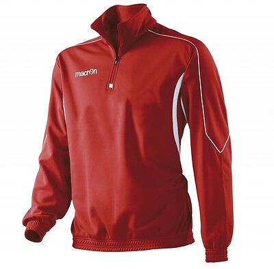 **Clearance Sale** MACRON INDUS 1/4 ZIP TRAINING TOP - MEDIUM ADULT