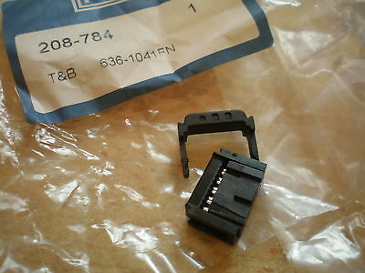 10 way IDC female connector   Thomas & Betts   636-104FN      16 pieces     Z735