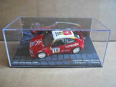 Rally Model Car IXO 1:43 CITROEN XSARA KIT CAR Catalunya 1999 P.Bugalski [MZ8A]