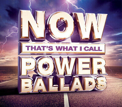 Various Artists : Now That's What I Call Power Ballads CD 3 discs (2015)
