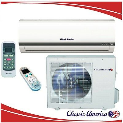 12000 BTU Ductless Mini Split Air Conditioner Heat Pump 1 Ton 16 SEER 12,000 AC