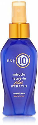It's A 10 MIRACLE LEAVE IN PLUS KERATIN 4 oz