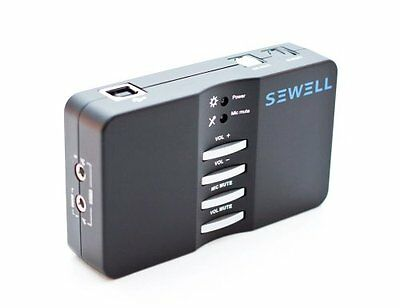 NEW Sewell SoundBox  External USB Sound Card  7.1 and 5.1 Channel Audio