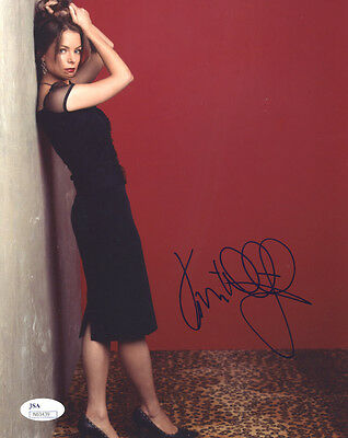 (SSG) KIMBERLY WILLIAMS Signed 8X10 Color Photo with a JSA (James Spence) COA