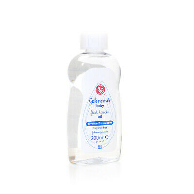 New Johnson's First Touch Baby Oil 200ml