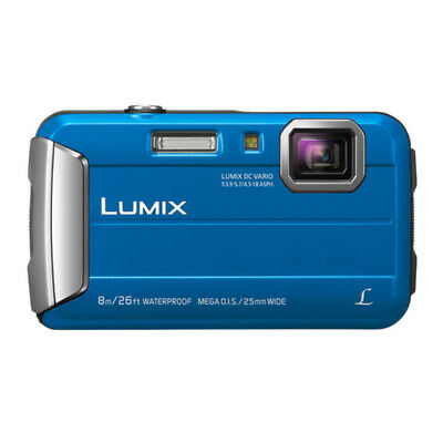 Panasonic LUMIX 16.1 MP  Active Lifestyle Tough Camera DMC-TS30A HD Video (Blue)