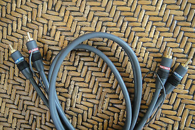 Monster Cable Interlink 101 1m/3.3ft RCA Connection LP Audio Interconnect Cable