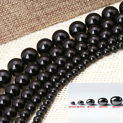 4/6/8/10/12MM Black Hematite Round Ball Spacer Beads Magnetic Wholesale