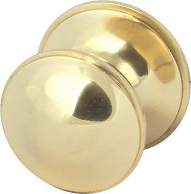 "3"" Center Door Knob 3 Finishes Available, Polished Brass, Chrome & Satin Nickel"