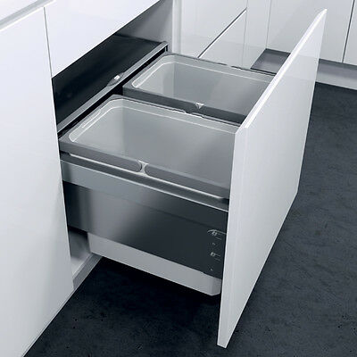 Oeko Liner Pull Out Kitchen Waste Bin SOFT CLOSE For 400-500 Cabinets