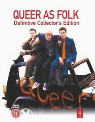 Queer As Folk: Definitive Edition DVD (2003) Aidan Gillen, McDougall (DIR) cert