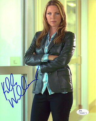 (SSG) KELLI WILLIAMS Signed 8X10 Color Photo with a JSA (James Spence) COA